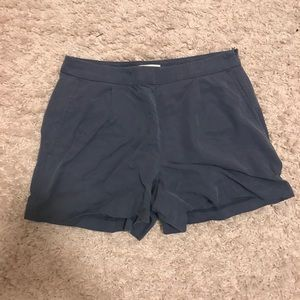 LOFT pleated shorts